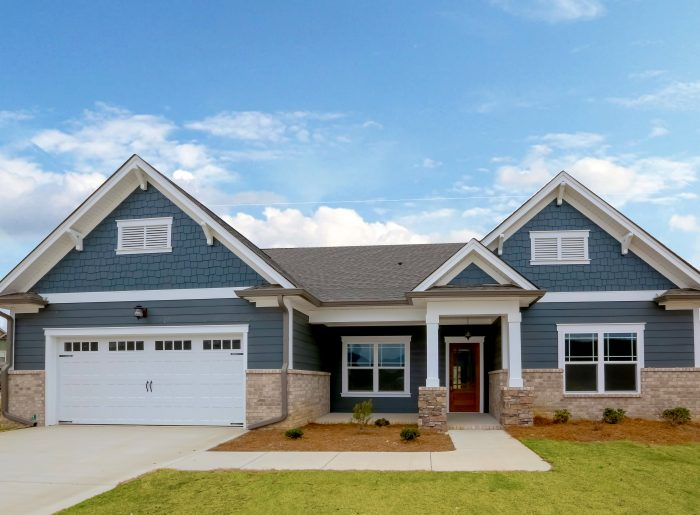 large new home by Pratt Homes