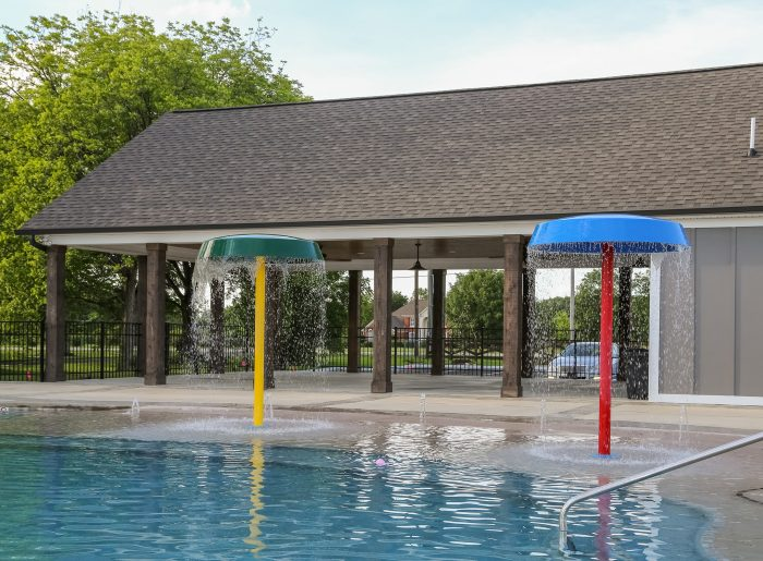 community pool at Creekside