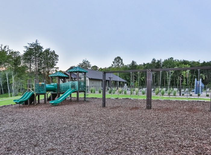 playground at GreyHawk Trails by Pratt Home Builders
